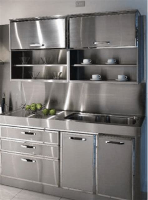 Furniture Style Kitchen Cabinets by 30 Metal Kitchen Cabinets Ideas Style Photos Remodel