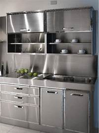 metal cabinets kitchen 30+ Metal Kitchen Cabinets Ideas, Style, Photos, Remodel ...