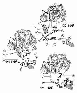 2000 Dodge Dakota Hose  Power Steering Return  Valve