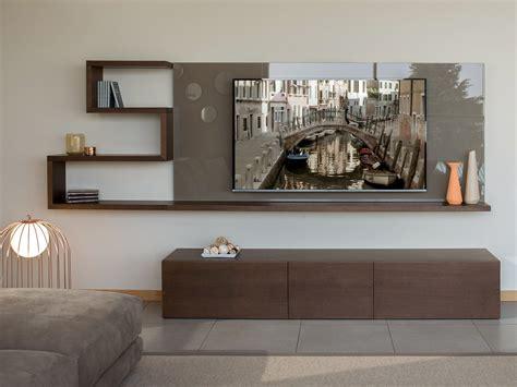 porta tv da parete pannello porta tv a parete in vetro show homeplaneur