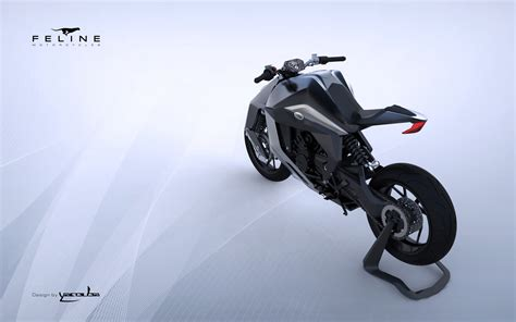 Feline One Motorcycle, The Futuristic Superbike Concept