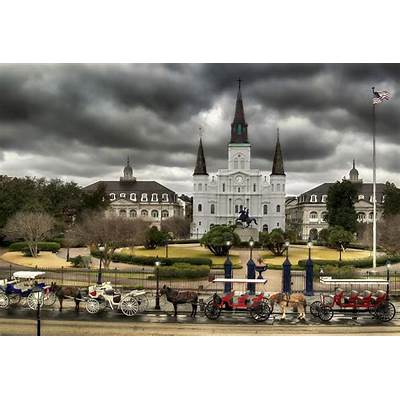 Jackson Square New Orleans Photograph by Don Lovett