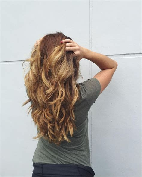 45 best long wavy layered hairstyles images on pinterest