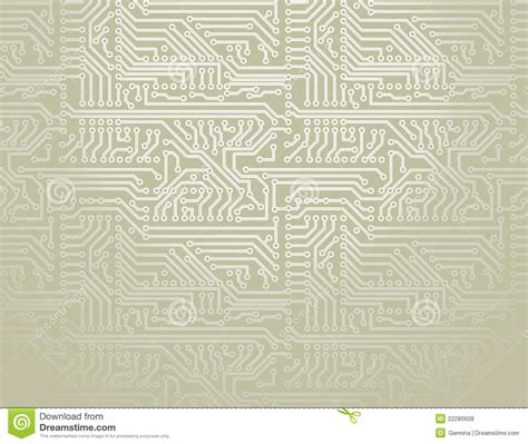Vector Circuit Board Background Royalty Free Stock Photos