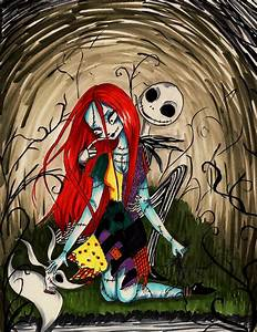 Sally and Jack Night by peevelmouse on DeviantArt