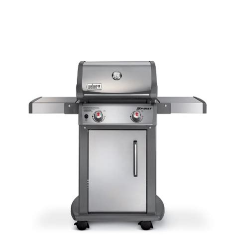weber  spirit  natural gas grill stainless
