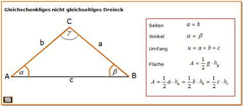 dreiecksberechnung  dreieck flaeche umfang berechnen