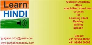 Learn Hindi Language from Native Speaker:Gurgaon NCR ...