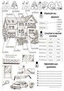 Piece De La Maison En Anglais : 113 gratuit fle maison fiches p dagogiques ~ Preciouscoupons.com Idées de Décoration