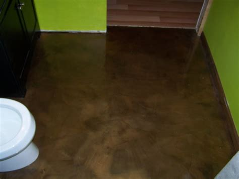 epoxy flooring on plywood re epoxy bathroom floor concretelocator com decorative concrete custom interior floori