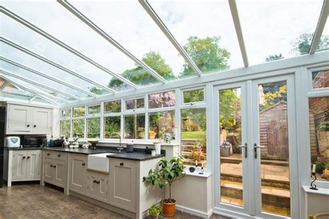 kitchen sunroom designs conservatory kitchen ideas care free sunrooms 3215