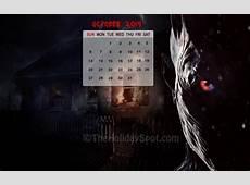 Calendar Wallpaper October 2019 Wallpapers from