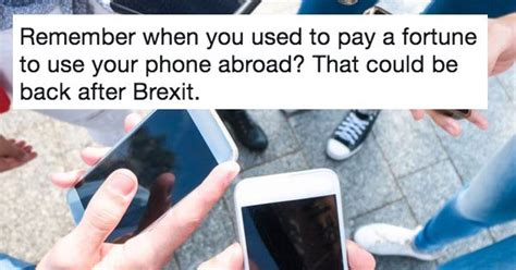 our favourite 9 responses to the brexit return of mobile roaming charges the poke