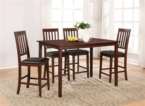essential home cayman  piece high top dining set