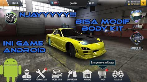 mobil balap keren game android balap mobil yang bisa modif body kit keren