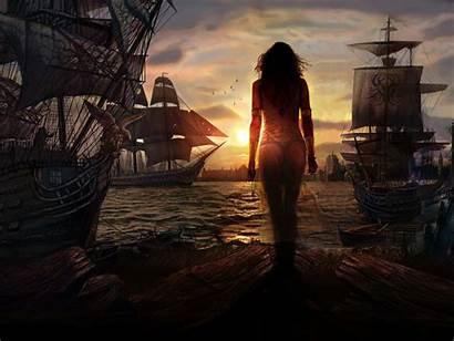 Pirate Desktop Background Fantasy
