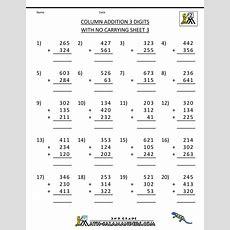 3 Grade Math Worksheets Siteraven
