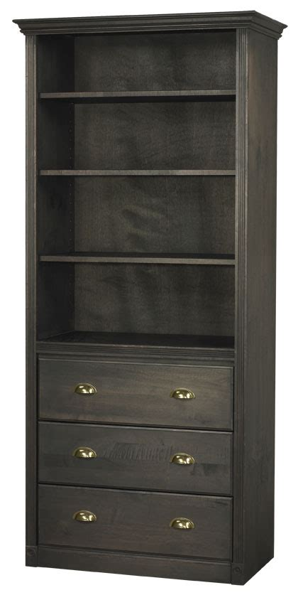 bookcase with drawers arthur w brown door drawer and other options