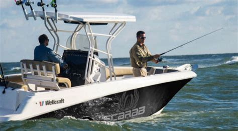 Scarab Boats Specs by Wellcraft 242 Fisherman 2016 2016 Reviews Performance
