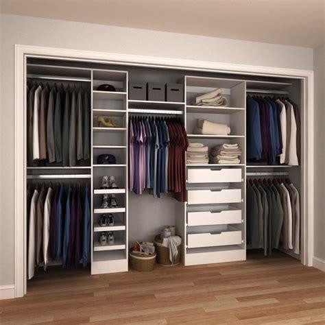 Design A Closet System by Modifi 15 In D X 180 In W X 84 In H Melamine Reach In