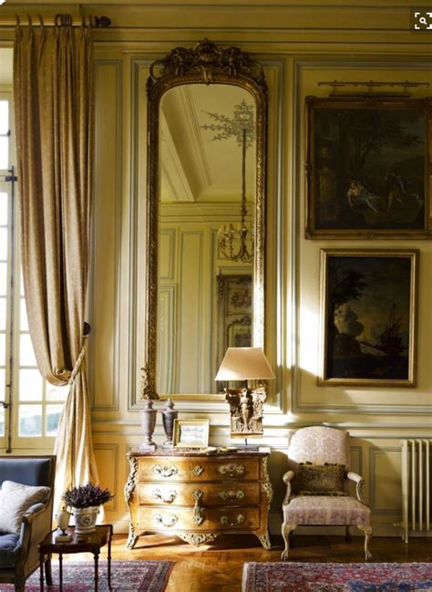 french chateau decor ideas  pinterest french