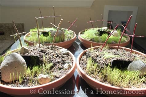 Miniresurrection Garden Easter Craft  Confessions Of A