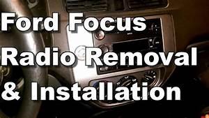 2005 Ford Focus Radio Removal  U0026 Installation