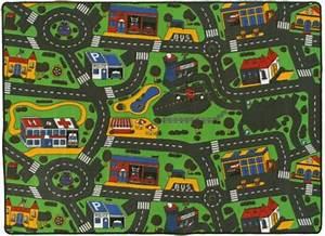 Tapis Enfant Route : tapis circuit voiture ville 145x200 cm ~ Teatrodelosmanantiales.com Idées de Décoration
