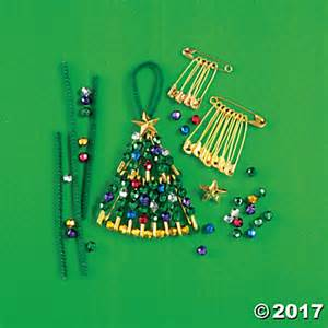 beaded safety pin christmas tree kit beaded craft kit kit share the knownledge