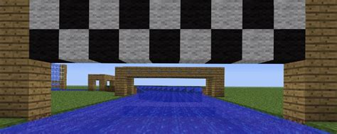 How To Make A Boat Race In Minecraft by Minecraft Mario Cart Boat Racing Mini Minecraft Guides
