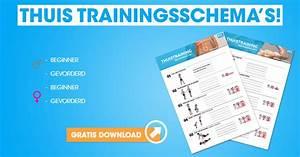 Trainingsschema thuis afvallen