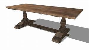Entrepot Destockage Maison Du Monde : large preview of 3d model of table lourmarin maisons du ~ Melissatoandfro.com Idées de Décoration