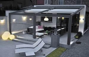 die besten 17 ideen zu balkonuberdachung auf pinterest With markise balkon mit tapeten ideen wohnzimmer grau