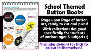 School Themed Button Books – People Power Press for Custom ...