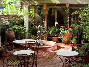 Mediterranean-Style Garden Amber Freda HGTV