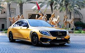 Brabus Mercedes Benz S65 Rocket 900 Desert Gold Wallpaper