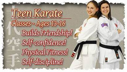 Karate Classes Teen Ages Learn Today Traditional