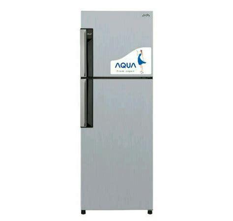 jual kulkas aqua sanyo 2 pintu aqr d239 inverter di lapak lj elektronik sheba shiva