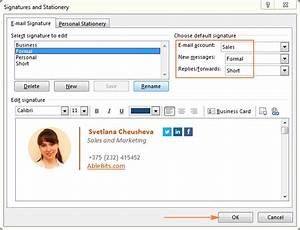 related keywords suggestions for outlook signature With outlook 2010 signature template
