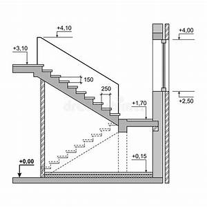 Betontreppe Berechnen : draft project stairs on white background vector stock vector image 39388057 ~ Themetempest.com Abrechnung