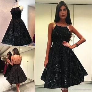 Tony Ward 2017 Short Black Prom Dresses Backless Lace ...