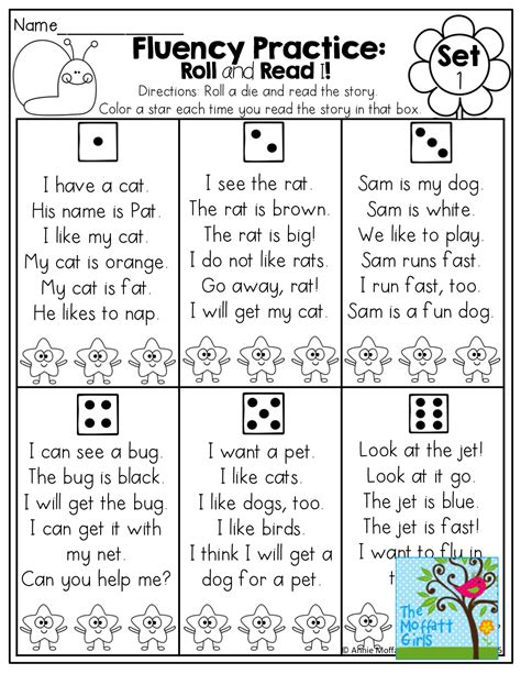 April No Prep Packet (kindergarten)  Fluency Practice, Simple Sentences And Sentences