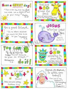 free printable inspirational lunch box notes happy home