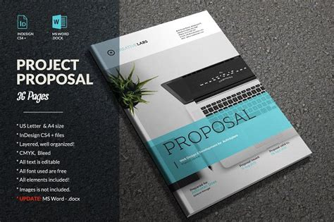 creative project proposal word template 20 creative business proposal templates you won t believe