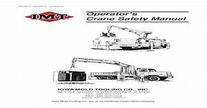 Operator U0026 39 S Crane Safety Manual This Crane Safety Manual Is