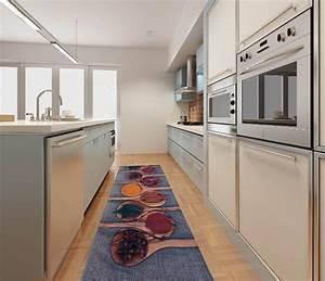 tapis de cuisine moderne cuisine naturelle With tapis pour cuisine