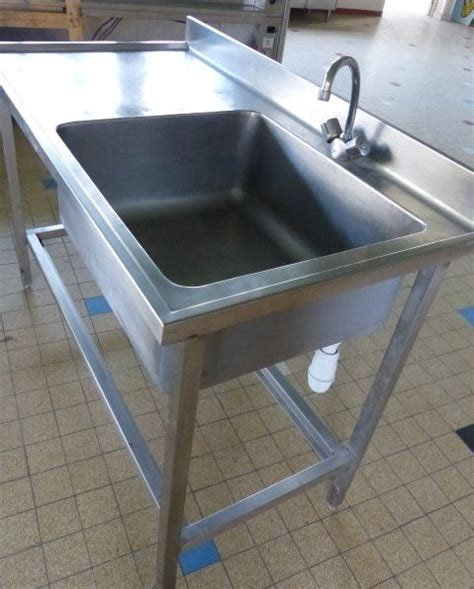 occasion cuisine professionnelle evier inox 1 bac clasf