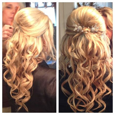 bump with curls hair styles