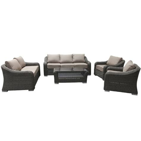 palm coast wicker seating by leisure select