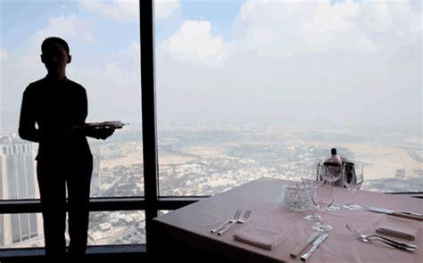 Burj Khalifa Top Floor Restaurant by Atmosphere The World S Highest Restaurant Opens In The
